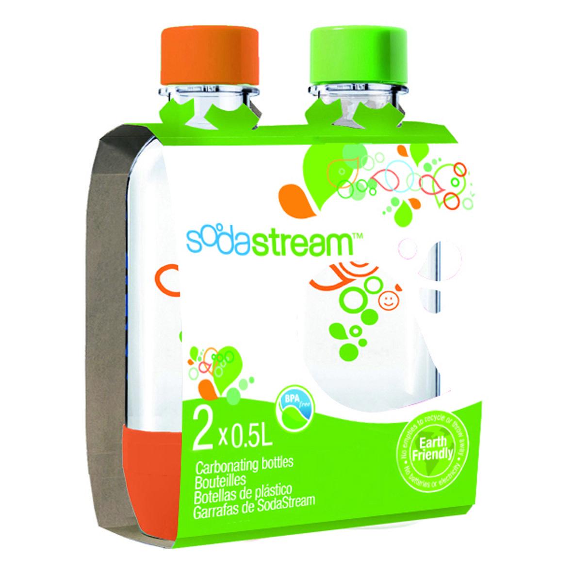 SodaStream GENESIS Drinksmaker - Mega-Pack Includes 4 Bottles and ...